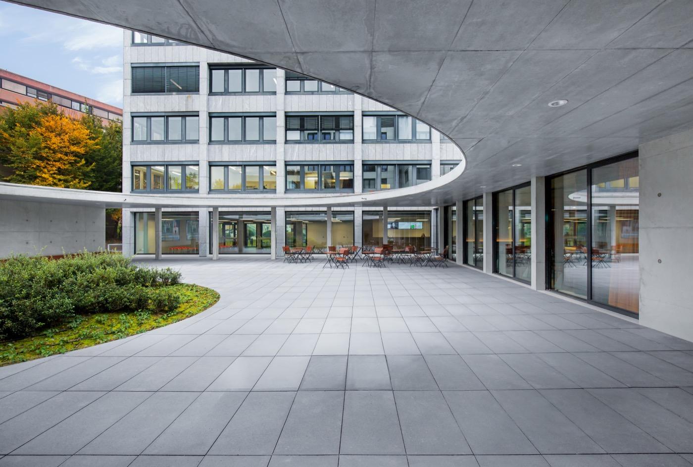 Burogebaude Der Gft Technologies Ag Stuttgart Guggenberger Ott