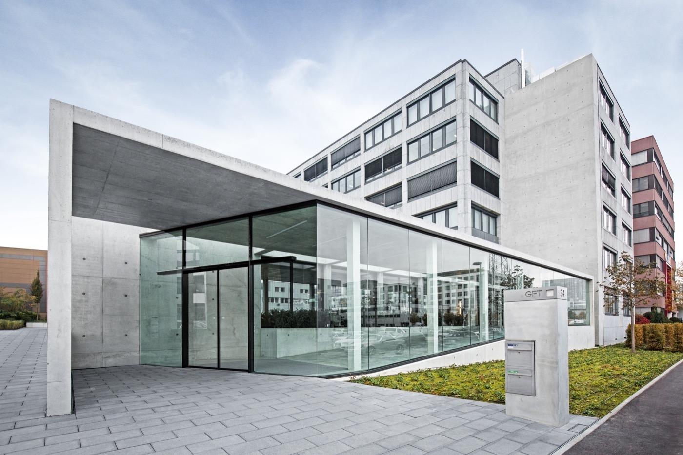 Bürogebäude der GFT Technologies AG Stuttgart