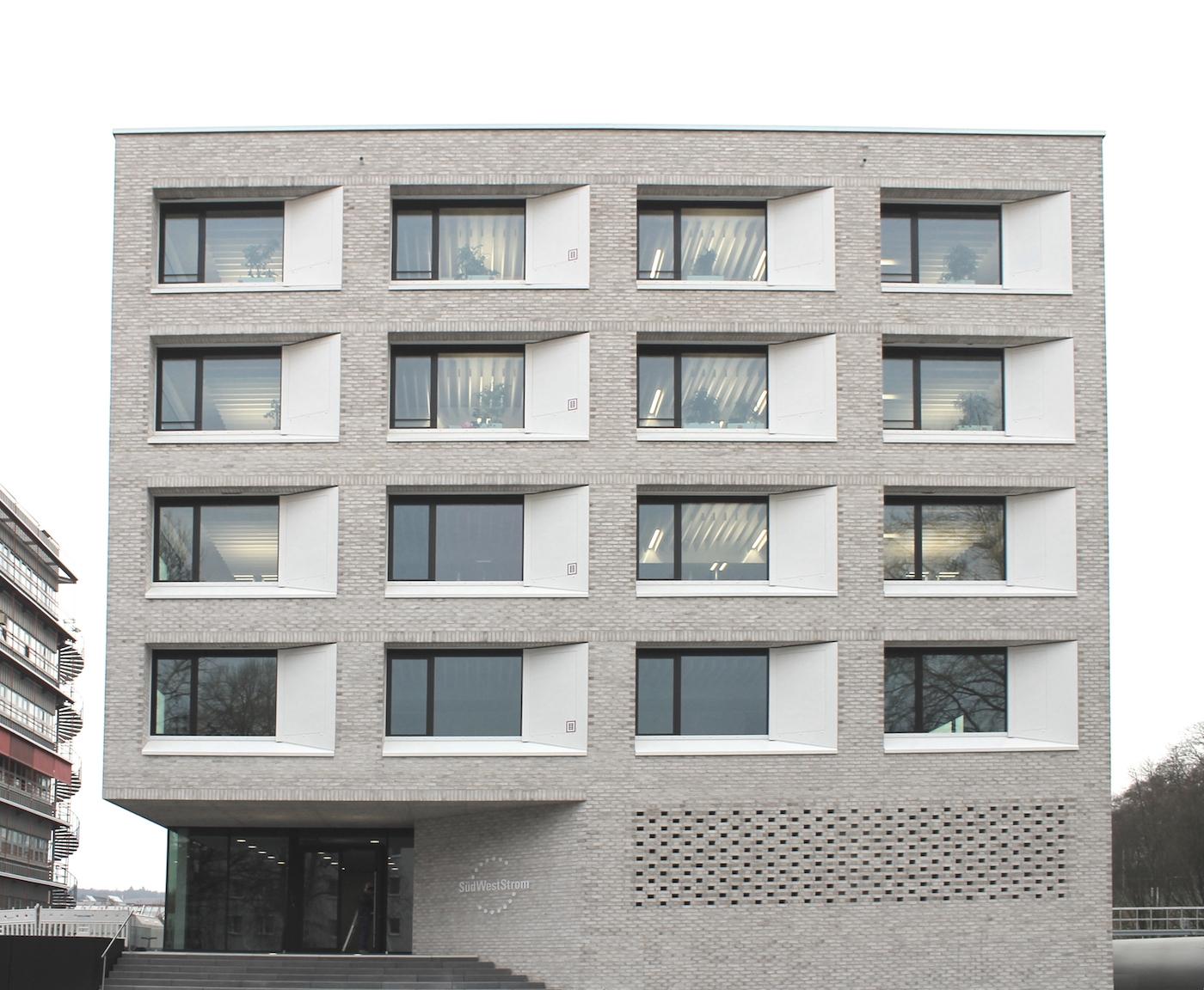 SWS Bürogebäude und Kundenzentrum Stadtwerke Tübingen
