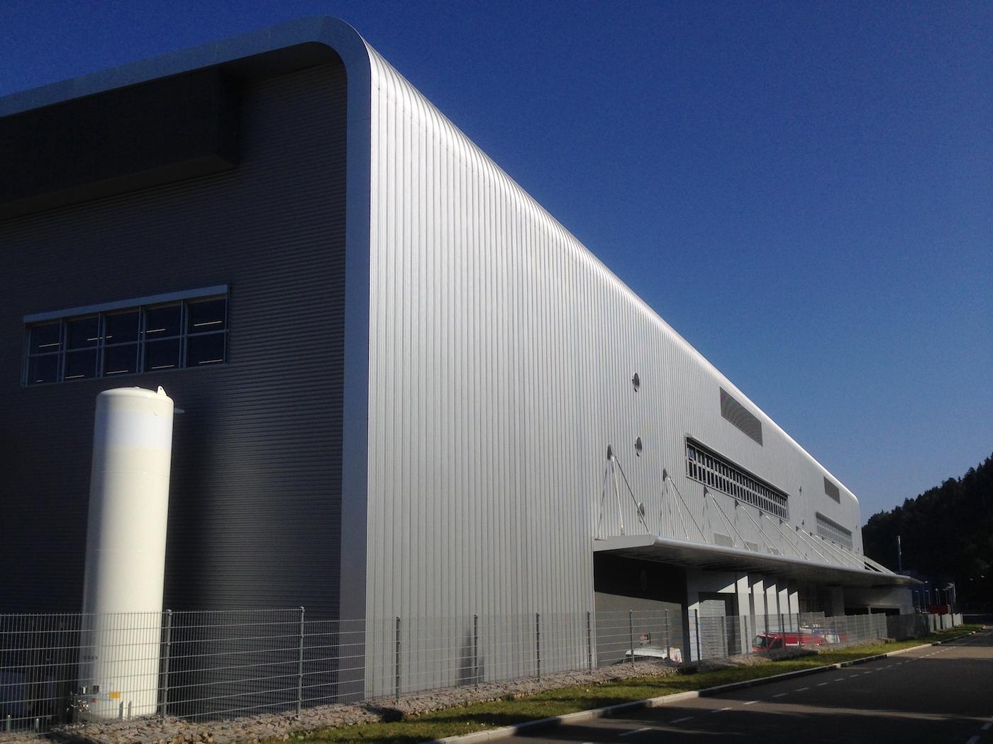 Aesculap AG Produktionsgebäude Bau 80 in Tuttlingen